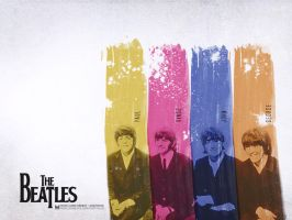 The Beatles Wallpaper by titemay