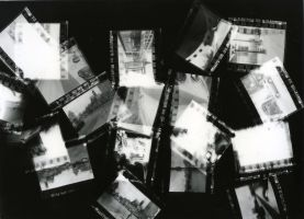 Photogram - negatives by rockershay