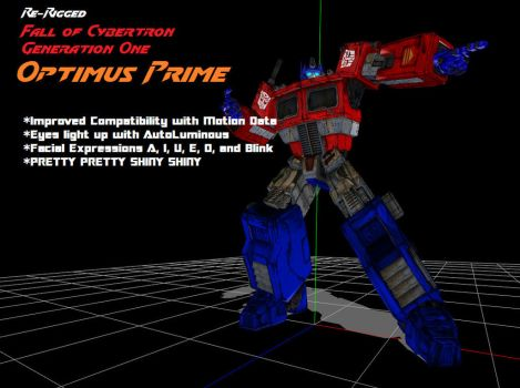 (MMD) Generation One Optimus Prime DL by tuestpwned