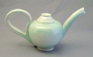 celadon tea pot by cl2007