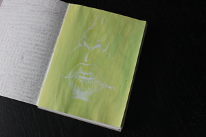 Lil Painting in my new Sketchbook uwu by galacticpetunia