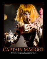 Captain Maggot by larissarainey