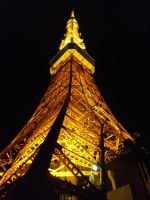 Tokyo Tower 2 by moldypotatoes
