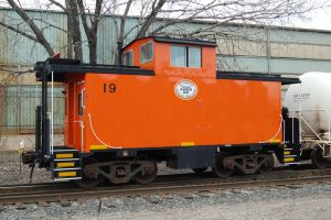little orange caboose by JDAWG9806