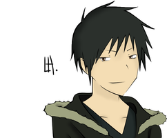 Orihara Izaya . Colored by LHatsu