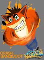 Playstation All Stars M.U.G.E.N #1 Crash Bandicoot by comicbookpayne