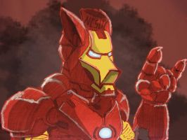 Iron Man Mach V by sfumato21