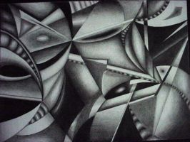 untitled cubism exploration by pearly-
