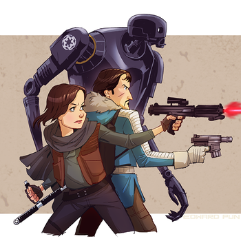 Rogue One by pungang