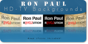 Ron Paul HD-TV Banners by Ron-Paul-4-President