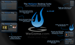 The WeGame Desktop Suite by UltraBE