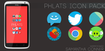 Phlats Icon Pack by sammyycakess