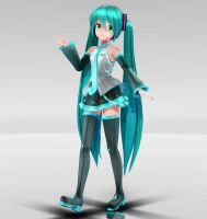 YYB Miku MMD download by Reon046