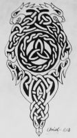 Symbolic Celtic Tattoo Concept by TickleMeHoHo