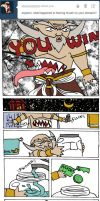 askthemishimas: Where is Jinpachi's stomach-mouth? by Leaf-nin