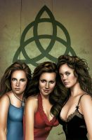 Charmed Cover Zenescope by diogonascimento