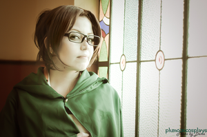 Attack on Titan  ::: Hanji Zoe Cosplay03 by plu-moon