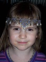 'Celina' circlet modelled by hwkwlf