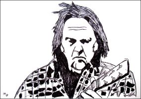 Neil Young by JOrte