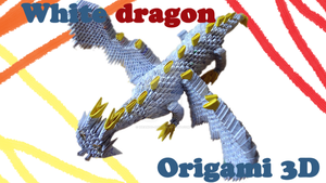 Origami 3D Dragon - VIDEO by IDEAndo-art