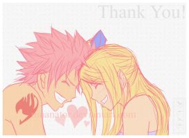 NaLu: Thanks by Ninanator