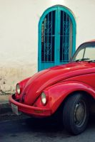 Red Car by chisa18