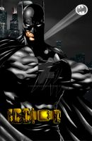 Batman-Tyndall and BigRob by BigRob1031