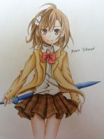 Misaka Mikoto by FrownedClown