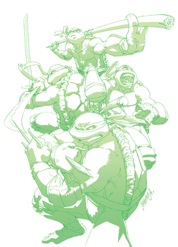 Heroes in a half-shell by theCHAMBA