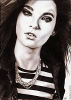 Bill Kaulitz 24 by crayon2papier
