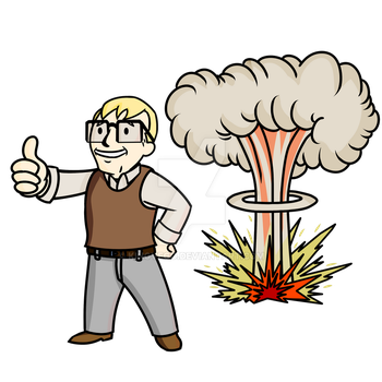 Cool Guys Don't Look At Explosions by KingVego