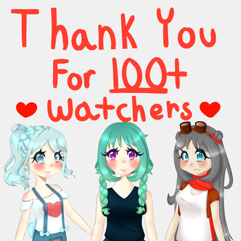 Thank You For 100+!! by Celestial-Burst