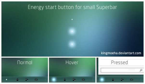 Energy dot for small taskbar by kingmoeha