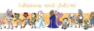 9 Years of Earthsong by ShadesOfEarth
