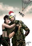 Snake and Quiet by atdoodle