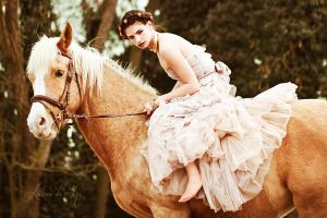 Horse Lady VI by Luthiae