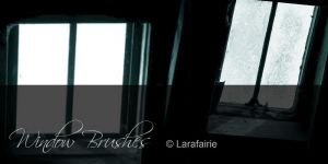 Larafairie-WindowBrushes by larafairie-stock