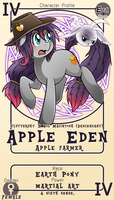 Character Card : Apple Eden by vavacung