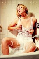 Wet Hot Jessica Shower II by RavenMacabre