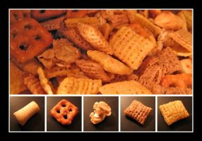 Sweet and Salty Snack Mix by devianb