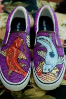 Koi Custom Shoes by Erobern
