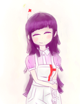 Happy (Belated) Birthday my favorite nurse, Mikan! by FuryX-4