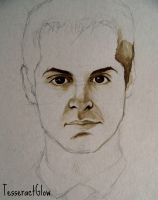 Andrew Scott ~ Jim Moriarty (WIP) by TesseractGlow