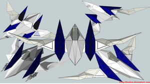 Arwing 3D by King-Hauken