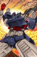 Spotlight on Ultra Magnus by wordmongerer