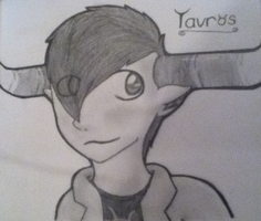 tavros drawing by sjk246