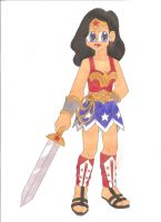 Contest: Wonder Woman by animequeen20012003