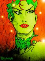 Poison Ivy Hush Portrait by kiss-lamia-lilith