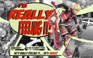 Shulk - I'm Really Feeling It! Wallpaper by brightrai