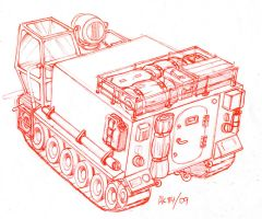 Exploration Vehicle Mk 2 by Frohickey